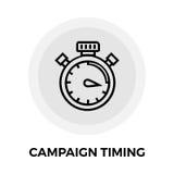 Campaign Timing Icon Stock Photo