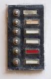 Campainha eléctrica velha Imagens de Stock Royalty Free