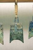 Campana antigua del carillón de China Imagen de archivo