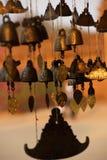 Campana birmana del tempio Immagini Stock Libere da Diritti
