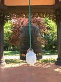 Campana buddista fotografie stock libere da diritti