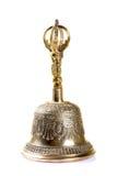 Campana de cobre amarillo Fotografía de archivo libre de regalías
