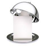 Campana de cristal del restaurante Fotografía de archivo libre de regalías