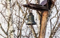 Campana de iglesia rusa vieja Imágenes de archivo libres de regalías