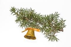Campana de la Navidad Imagen de archivo libre de regalías