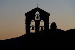 Campana de la torre imagen de archivo