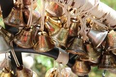 Campana del oro en el deseo Imagen de archivo