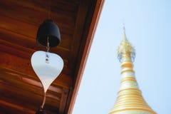 Campana del tempio fotografia stock