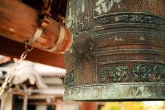 Campana del templo de Japón foto de archivo