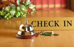 Campana dell'hotel fotografia stock libera da diritti