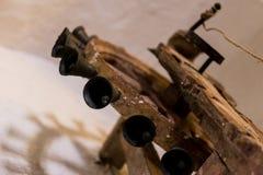 Campana di legno dell'altare a Santa Catalina Monastery Fotografia Stock Libera da Diritti