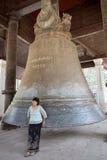 Campana Myanmar di Mingun fotografia stock