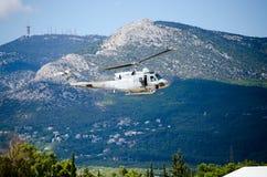 Campana uh 1 del helicóptero Imagen de archivo