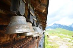 Campanaccii svizzeri tradizionali Immagine Stock Libera da Diritti