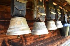 Campanaccii svizzeri tradizionali Fotografia Stock