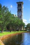 Campanario Carolina del Sur de la universidad de Furman Fotos de archivo