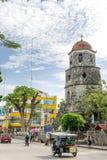 Campanario de Dumaguete на городе Dumaguete Стоковое Фото