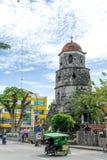 Campanario de Dumaguete на городе Dumaguete Стоковые Изображения