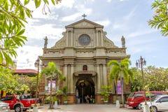 Campanario de Dumaguete en la ciudad de Dumaguete Fotos de archivo