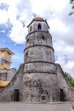 Campanario de Dumaguete på den Dumaguete staden Arkivbilder