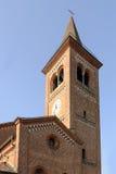 Campanario de la abadía de Monlue, Milán, Italia Fotos de archivo libres de regalías
