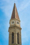 Campanario de la catedral de Arezzo Foto de archivo libre de regalías