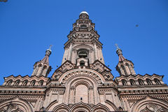 Campanario de la catedral de la epifanía Imagenes de archivo