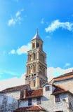 Campanario DE La Catedral DE San duje Spleet, Croacia Stock Foto's