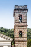 Campanario de la iglesia de la capilla del baño en Castiglione Fiore Fotografía de archivo