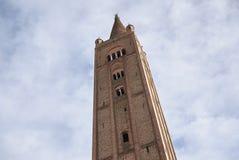 Campanario de la iglesia de San Mercuriale Fotografía de archivo libre de regalías