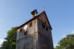 Campanario de madera en Wienhausen, Alemania Foto de archivo