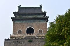 Campanario de Pekín, China fotos de archivo libres de regalías