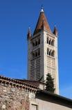 Campanario de San Zeno Basilica en Verona en Italia septentrional Fotos de archivo