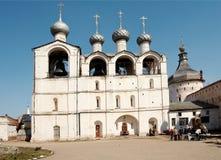 Campanario de una iglesia Foto de archivo