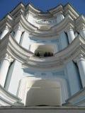 Campanario de una iglesia Fotos de archivo