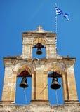 Campanario de una iglesia Imagenes de archivo