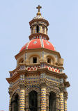 Campanario de una iglesia Imagen de archivo libre de regalías