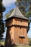 Campanario de una iglesia de madera Foto de archivo