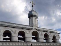 Campanario de una iglesia de St.Sophia Imagen de archivo libre de regalías