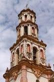 Campanario de una iglesia de Tilaco imágenes de archivo libres de regalías