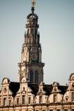 Campanario de una iglesia del Arras Fotografía de archivo libre de regalías