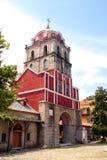 Campanario de una iglesia en el montaje Athos Imagen de archivo
