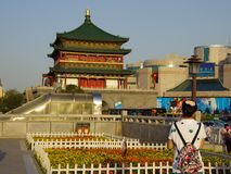 Campanario de Xi'an Imagen de archivo libre de regalías