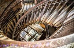 Campanario del metal de la escalera espiral Foto de archivo libre de regalías