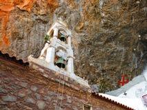 Campanario del monasterio de Elona foto de archivo libre de regalías