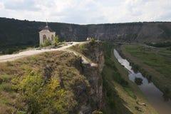 Campanario del monasterio de la cueva Foto de archivo
