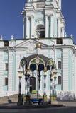 Campanario en la abadía del sergei de Sam, Federación Rusa Imagen de archivo