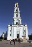 Campanario en la abadía del sergei de Sam, Federación Rusa Imagenes de archivo
