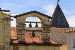 Campanario Euphemia Church del monasterio de Cyril-Belozersky Fotografía de archivo libre de regalías
