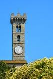 Campanario, Fiesole, Italia Imágenes de archivo libres de regalías